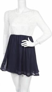Sukienka Anself bez rękawów z okrągłym dekoltem mini
