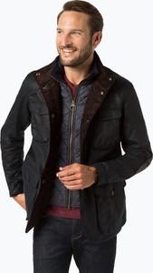 Czarna kurtka Barbour z bawełny w stylu casual