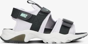 Sandały Nike z płaską podeszwą z klamrami