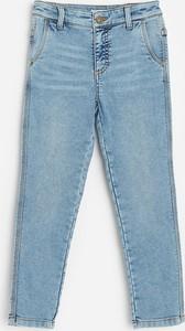 Niebieskie jeansy dziecięce Reserved dla chłopców