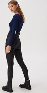 Granatowa bluzka Sinsay