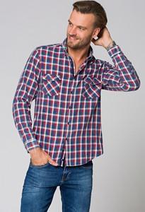 Koszula LANCERTO z jeansu