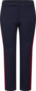 Niebieskie spodnie sportowe Esprit z dresówki
