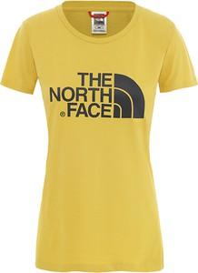 Bluzka The North Face z krótkim rękawem z bawełny