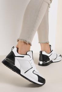 Buty sportowe Renee z płaską podeszwą ze skóry
