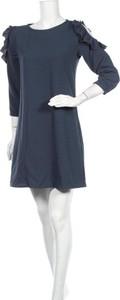 Sukienka Teddy Smith z okrągłym dekoltem mini