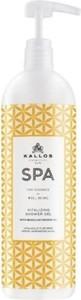 Kallos, Spa, Vitalizing Shower Gel, rewitalizujący żel pod prysznic, Brazilian Orange Oil, 1000 ml