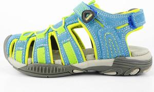 Buty dziecięce letnie Lamino dla chłopców na rzepy ze skóry