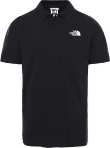 Koszulka polo The North Face w sportowym stylu z krótkim rękawem