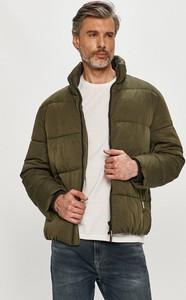 Zielona kurtka Tommy Jeans w stylu casual krótka