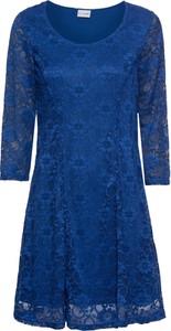 Sukienka bonprix BODYFLIRT z długim rękawem z okrągłym dekoltem