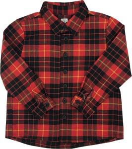 Czerwona koszula dziecięca Madson