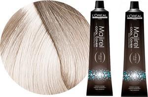 L'Oreal Paris Loreal Majirel Cool Cover | Zestaw: trwała farba do włosów o chłodnych odcieniach - kolor 10.1 bardzo bardzo jasny blond popielaty 2x50ml - Wysyłka w 24H!