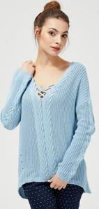 Sweter Moodo z bawełny