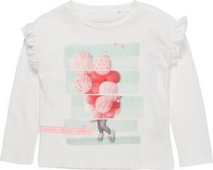 Bluzka dziecięca Esprit z bawełny z długim rękawem
