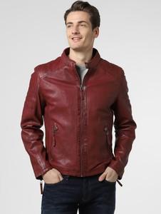 Czerwona kurtka Gipsy ze skóry
