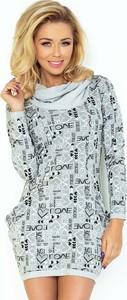 Miętowa sukienka Coco Style mini