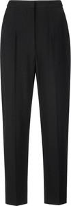 Czarne spodnie Alexander McQueen