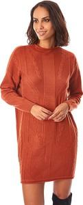 Sukienka L'étoile Du Cachemire prosta z dzianiny