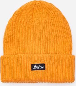 Pomarańczowa czapka House