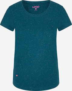 T-shirt LOAP w stylu casual z okrągłym dekoltem