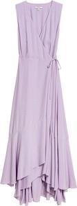 Sukienka Dagmar z dekoltem w kształcie litery v bez rękawów