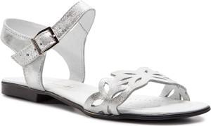 Sandały Sergio Bardi z płaską podeszwą