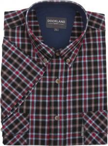 Koszula Dockland z krótkim rękawem z bawełny w stylu casual