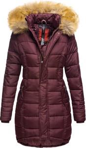 Czerwona kurtka Navahoo w stylu casual