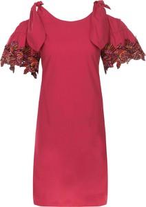 Sukienka Pinko z tkaniny midi w stylu casual