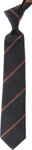 Czarny krawat Moschino