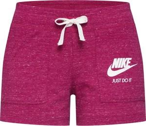 Różowe szorty Nike Sportswear