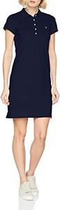 Granatowa sukienka amazon.de w stylu casual