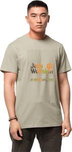 T-shirt Jack Wolfskin z dzianiny