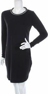 Czarna sukienka Eksept w stylu casual prosta