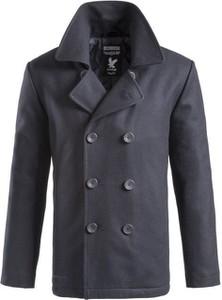 Niebieski płaszcz męski Surplus