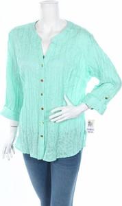 Zielona koszula Jm Collection w stylu casual