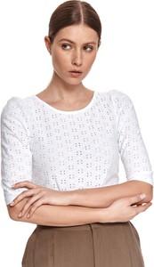 Bluzka Top Secret w stylu casual z okrągłym dekoltem
