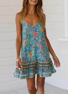 Sukienka Sandbella mini w stylu casual