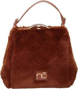Brązowa torebka NOBO duża na ramię