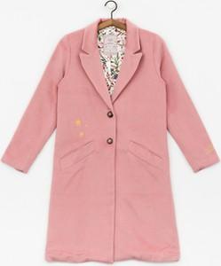 Płaszcz Femi Stories w stylu casual z wełny