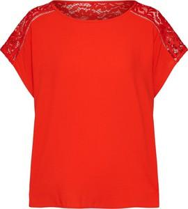 Bluzka Vero Moda w stylu casual z krótkim rękawem