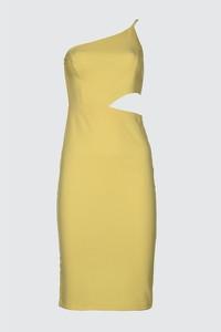 Żółta sukienka Trendyol