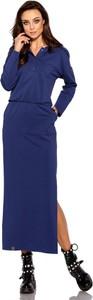 Sukienka Lemoniade maxi z długim rękawem