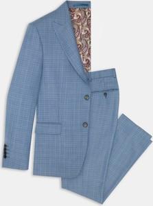 Niebieskie spodnie Pako Lorente
