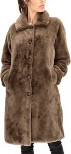 Brązowy płaszcz Rino & Pelle w stylu casual