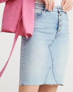 Spódnica Reserved midi z jeansu