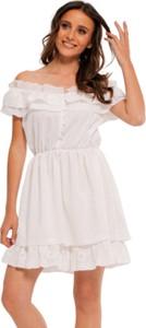 Sukienka Milena Płatek hiszpanka mini