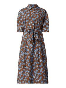 Sukienka Marc O'Polo w stylu casual z bawełny z krótkim rękawem