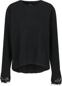 Czarny sweter Pinko z wełny